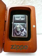 Zippo Feuerzeug I Want You in Rosenholz Box