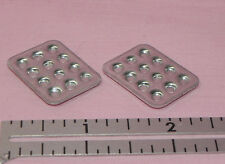 Dollhouse Miniature Muffin Cupcake Pan Set 2 1:12 Scale