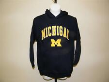 NEW MICHIGAN WOLVERINES YOUTH SIZE 14-16 L LARGE by GENUINE STUFF HOODIE 37UQ