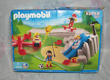 Playmobil Super Set 132 - Playground - Kids, Slide, Skateboard, Children - Box