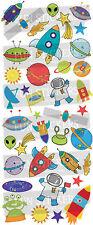 Fun Stickers ESPACIO EXTERIOR 833 Para Niños Divertido Actividades Manualidades