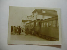 Suis369 - c1940s NYON St CERGUE & MOREZ Light Railway TRAIN Photo Switzerland