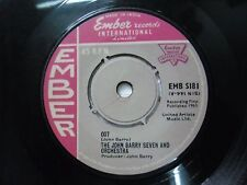 "THE JOHN BARRY SEVEN & ORCHESTRA EMB S181 RARE SINGLE 7"" INDIA INDIAN 45 rpm VG+"