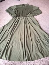 Nice women's junior's size 13/14 Impromptu green long style dress outfit