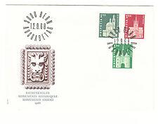 Schweiz  FDC Ersttagsbrief 1968 Freimarken Mi.Nr.884-86