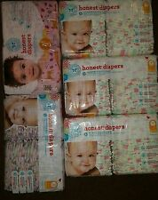 Honest diapers size 1- 44 diapers in each pack