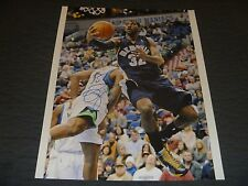 OJ Mayo Memphis Grizzlies/Milwaukee Bucks Signed/Auto 16x20 Photo  COA