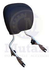 Mutazu 2009 and UP Harley HD Detachable Touring Sissy Bar Back Rest Upright