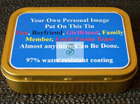 Personalise Your Own 1oz and 2oz Tins