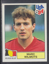 Panini - USA 94 World Cup - # 373 Marc Wilmots - Belgique (Green Back)