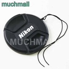 52mm 52 mm Snap-on Front Lens Cap Cover w Cord strap for Nikon F AF S lens LC-52
