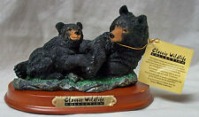 BLACK BEAR w/CUB Detailed CLASSIC WILDLIFE COLLECTION Statue Figurine - NIB