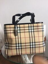 Genuine Burberry Tote Bag With Dustbag