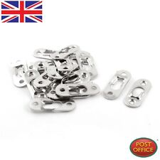20 Pcs 44mm x 16mm Metal Keyhole Hanger Fasteners for Picture