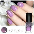 6ml Thermolack Peel Off Farbwechsel Nagellack Nail Color Changing Polish #C008