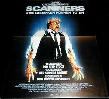 1981 Scanners ORIGINAL GERMANY A3 POSTER David Cronenberg ICONIC SCI-FI