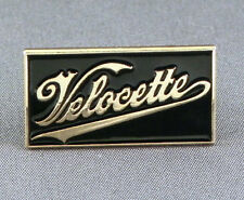Metal Enamel Pin Badge Brooch Velocette Motorbike Motorcycle Bike Rider Logo
