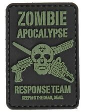 AC-110D: Tactical SKULL ZOMBIE RESPONSE PVC PATCH (no tracking number)