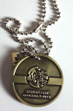 QMX Serenity/Firefly Malcolm Reynolds Metal Dog Tag- Error Version- FREE S&H