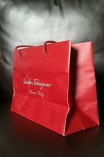 Salvatore Ferragamo Small Gift Bag Carrier Bag Creased 28/21/12