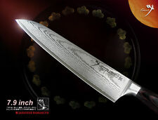 "Japanese VG10 Damascus Classic Gyuto Chef's Knife 7.9"" Cookware Cutlery"