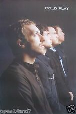 """COLDPLAY """"GROUP LOOKING UP"""" POSTER FROM ASIA - U.K. Alternative Music"""
