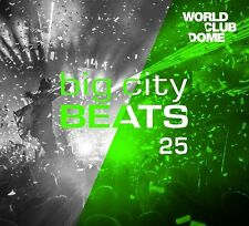 BIG CITY BEATS VOL.25 WORLD CLUB DOME WINTER EDITION 3 CD BOXSET  NEU