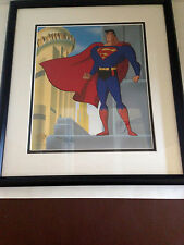 Superman Animation Art Cel