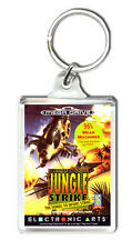 JUNGLE STRIKE SEGA MEGA DRIVE KEYRING LLAVERO