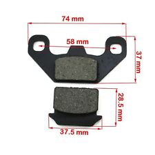 Disc Disk Brake Pads 70 110 125 cc Coolster SSR SR70-C SR110 SR125 Pit Dirt Bike