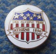 TEAM USA OLYMPIC ATHENS 1896 ENAMEL PIN BADGE