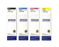 Epson CMYK Refill Ink Set T6641 T6642 T6643 T6644 For L110 L120 L210 L355 L555