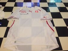 Puma Switzerland Suisse World Cup Soccer Jersey Vintage Style Not Sold Large