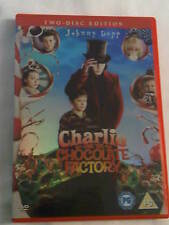 Charlie and the Chocolate Factory 2 Disc Edition DVD Starring  Johnny Depp,