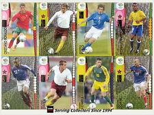 Panini 2006 Germany Official World Cup Soccer Card Full Set (205)+ Album- Rare!