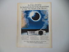 advertising Pubblicità 1979 OROLOGIO ZENITH DEFY QUARTZ