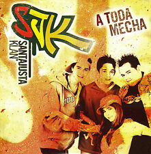 CD SINGLE promo SANTAJUSTA KLAN a toda mecha SPAIN 2005 serie tv