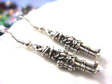 Sterling Silver Nutcracker Ballet Mini Christmas Kirsten Earrings USA w Gift Bag