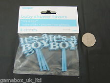 Baby Shower Boy Favors/Party/Tableware/For Games/Decorations Cake Picks Boy