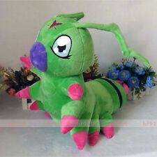 "Digimon Adventure Ken Ichijouji's Wormmon Cosplay Plush Doll 15.7""x17.7"" Toys"