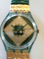 "SWATCH WATCH ""JADE"" VERY RARE NEW COLLECTABLE MINTGG171 GREAT GIFT NIB"