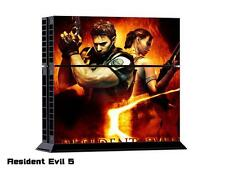 Sony PS4 Console and Controller Skins -- Resident Evil 5 (#104)