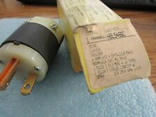 Hubbell Model: HBL5466C Two Pole Plug.  New Old Stock.