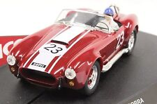 NINCO 50196 COBRA 1964 GOODWOOD NEW 1/32 SLOT CAR IN DISPLAY CASE