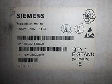 SIEMENS SIMOVERT  MICROMASTER DRIVE  6SE3014-8BC00 1.50HP/1100W ISSUE E (QQ1)