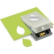 GREEN LEAF Large Slim Profile Paper Punch by EK Success