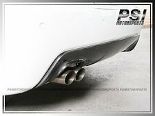 BMW E60 E61 M-Tech Sport Bumper 3D Style Carbon Rear Diffuser Single Dual Tips
