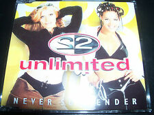 2Unlimited / 2 Unlimited Never Surrender Australian Remixes CD – Like New