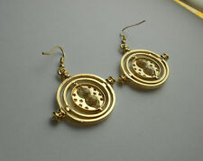 ORECCHINI GIRATEMPO EARRINGS EAR RINGS HARRY POTTER COSPLAY HERMIONE TIME TURNER