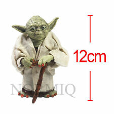 PVC Toys Star Wars Master Yoda with Cane Action Figure Loose Collect Kid Gift